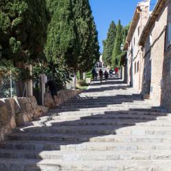 Freitreppe mit 365 Stufen zur Kapelle des Kalvarienberges