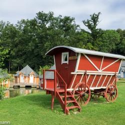 Übernachtung im Leiterwagen - historische Mühle Eberstedt