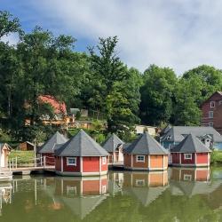 schwimmende Ferienwohnungen - historische Mühle Eberstedt