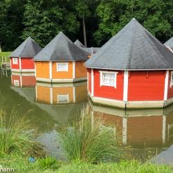 schwimmende Ferienhäuser - Eberstedt