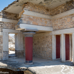 Knossos - Südpropyläen des Palastes