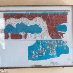 Knossos - Raum mit Freskenkopien