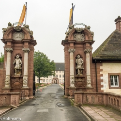 Eingang Schloss Corvey
