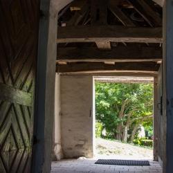 Eingang Kirche in Vitte