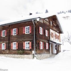 Holzgau - altes Bauernhaus