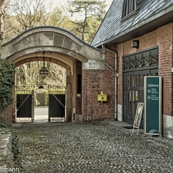 Einfahrt - Haus Schulenburg -Gera