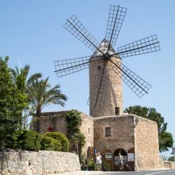 Mallorca, Mühle in Sineu