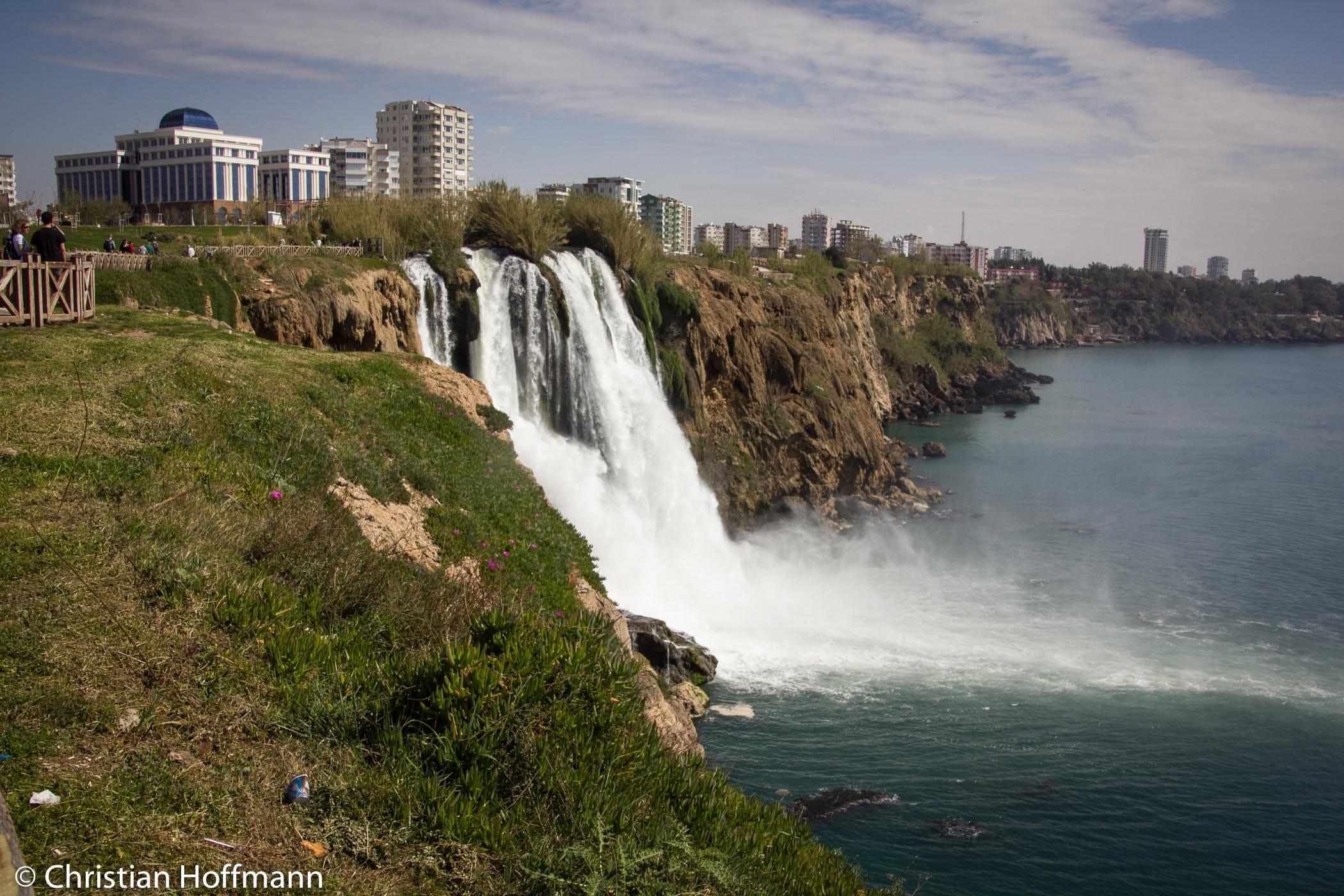 Lara Wasserfall - Antalya