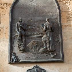 Gedenktafel an den Franziskanermönch Fray Junipero Serra