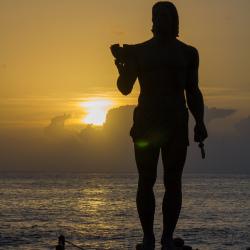 Sonnenuntergang Gomera