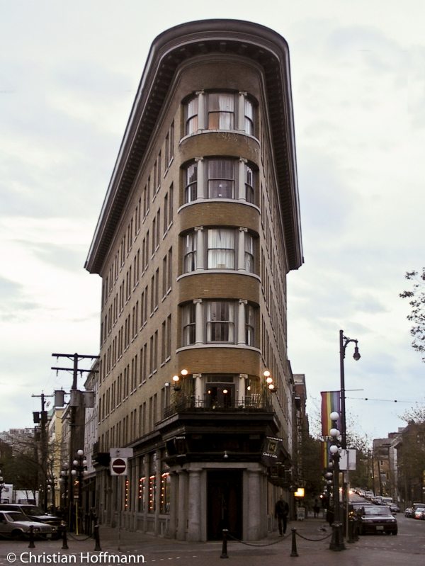 Hotel Europe - Vancouver - Stadtteil Gastown