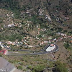 Blick vom Mirador del Palmarejo auf das Valle Gran Rey
