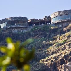 Blick zum Mirador del Palmarejo auf Gomera