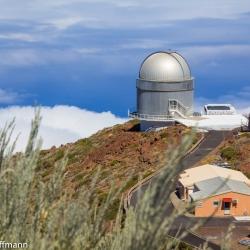 Nordic Optical Telescope (NOT) auf dem Roque de los Muchachos auf La Palma
