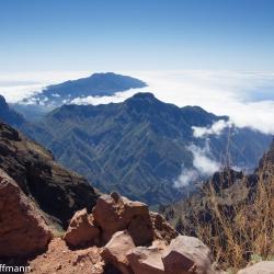 Mirador auf dem Roque de los Muchachos
