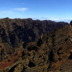 Panorama Roque de los Muchachos - La Palma - Blick Richtung Süden