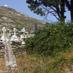 Naxos - Panagia Drossiani - Friedhof