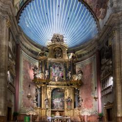 Altar in der Pfarrkirche von Pollenca