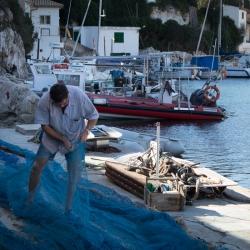 Fischer der Cala Figuera, Mallorca