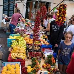 Wochenmarkt Sineu