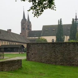 Schloss Corvey mit Westwerk