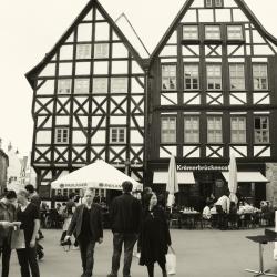 Erfurt Altstadt Krämerbrücke