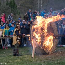 Sommergewinn Eisenach - Feuerrad der Germanen