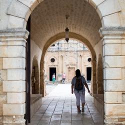 "Eingang ""Klaoustra""- Kloster Arkadi"