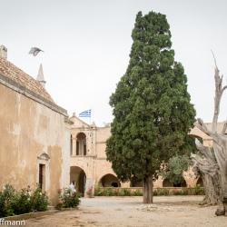 Garten um die Klosterkirche - Kloster Arkadi