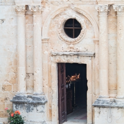 Eingang zur Klosterkirche - Kloster Arkadi