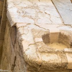 Knossos - großes Treppenhaus des Palastes
