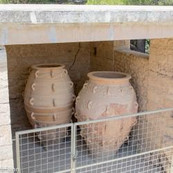 Pithoi in Knossos
