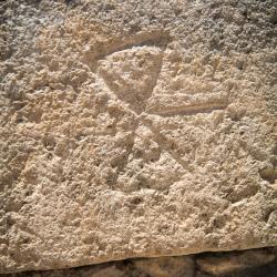 Knossos - Abbildung der Doppelaxt