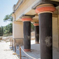 Knossos - doppelte Säulenfassade