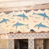 Knossos - Delphinfresko