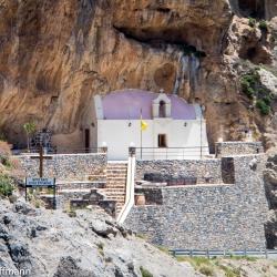 Kreta - Kirche in der Kourtaliotiko-Schlucht