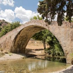 Kreta - Brücke in Preveli