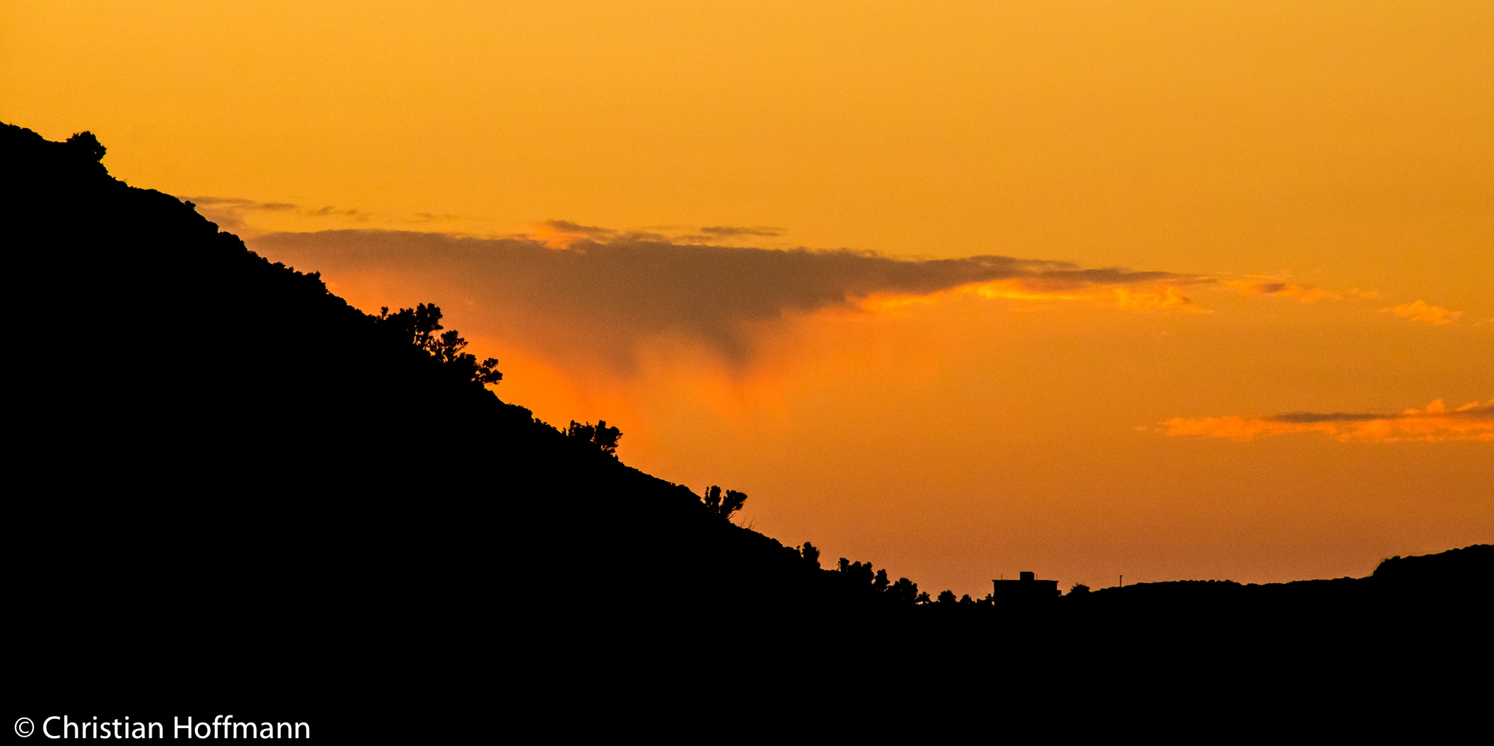 Abend Kreta
