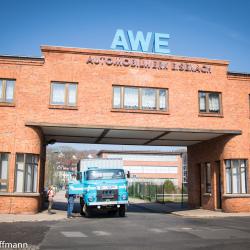 startklar-2019 ehemaliges Haupttor  zum Werksgelände des AWE
