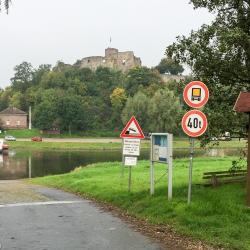 Weserradweg - Fähre Polle