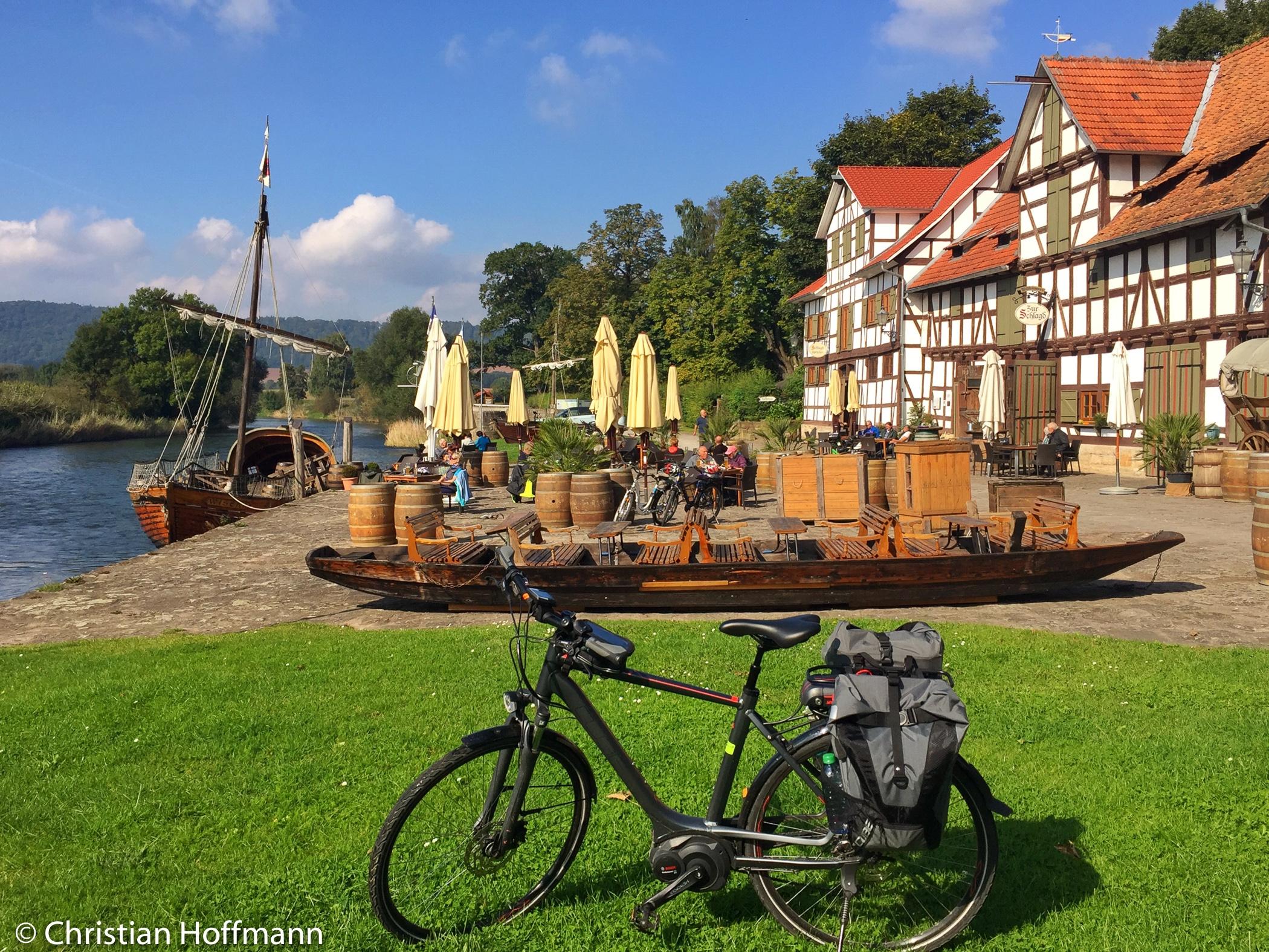 Werra Hafen Wanfried