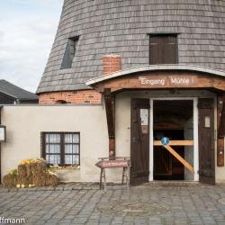 Eingang Windmühle Straupitz