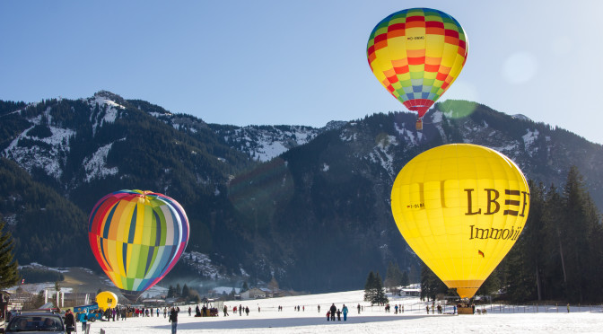 Balloning Tannheimer Tal