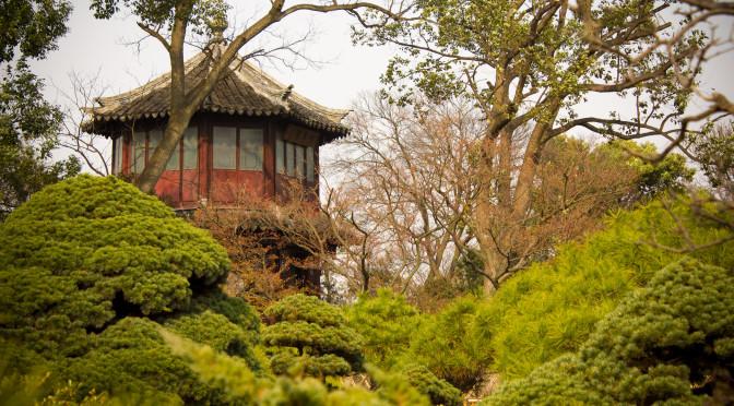 Souzhou - Garten des bescheidenen Beamten